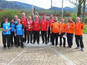 2.Rang ESV Arzl im Pitztal 1.Rang ESC Axams 3.Rang SV Olympisches Dorf