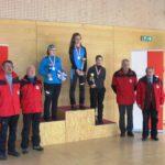 U-19w 2. Sina Rieger, 1. Katharina Triendl, 3. Ina Leitner.